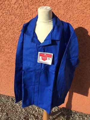Old Blouse, Work Coverall Overall Boilersuit Size 56/100% Cotton Sait