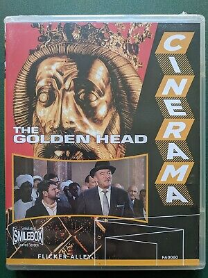 The Golden Head, Blu-ray + DVD, FACTORY SEALED, FREE SHIP, Ohio seller, Cinerama