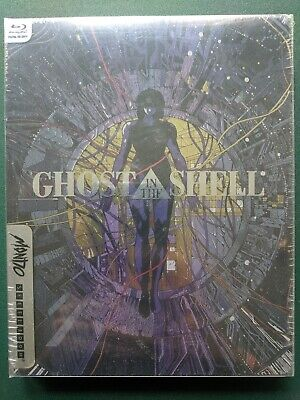 Ghost in the Shell, Blu-ray + Steelbook, SEALED, New, FREE SHIP, Ohio Seller