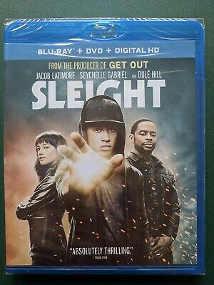 Sleight, Blu-ray + DVD + Digital HD, FACTORY SEALED, FREE SHIPPING, Ohio seller