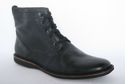 6595255b7ff JOHN VARVATOS LEATHER Men's Black Distressed Boots - Upscale- New ...