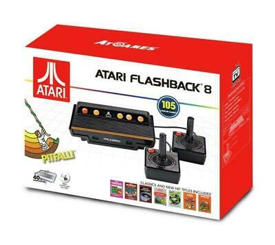 Atari Flashback 8 Classic Retro Game ConsoleWith 105 Built-In Games - New