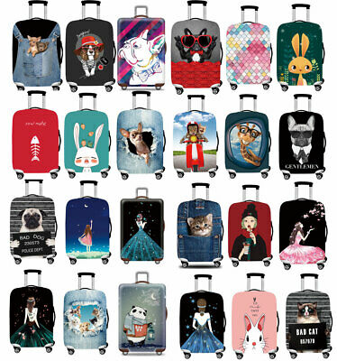 """18""""-32"""" Elastic Protective Anti-dirty Luggage Cover Thicker Suitcases Case Bag"""