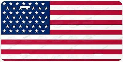 American United States Flag License Plate Auto Car Bike Motorcycle Wall Sign etc