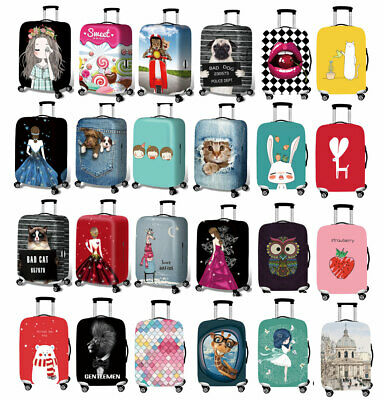 """Elastic 18""""-32"""" Luggage Suitcase Cover Trip Anti-dirty Protective Dustproof Bag"""