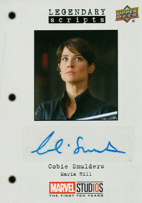 Marvel The First Ten (10) Years, Cobie Smulders Autograph Card LS-CS