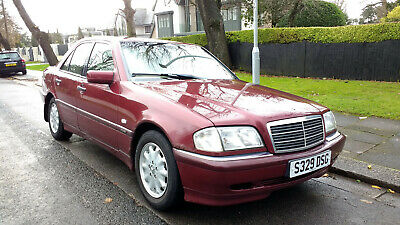 Mercedes-Benz C180 W202 + Only 61,000 Miles + Fsh + Full Leather Interior