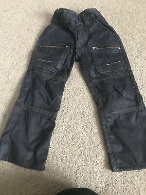 Next Boys Dark Blue Jeans Size 4Years