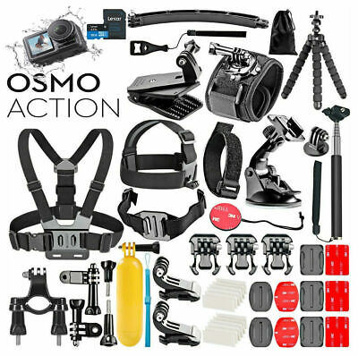 DJI Osmo Action 4K Cam Digital Camera  + 50 IN 1 ***Mega Bundle Accessories***