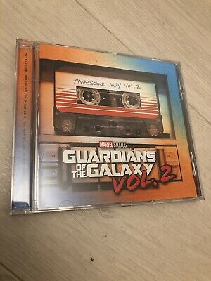 GUARDIANS OF THE GALAXY 2 AWESOME MIX VOL.2 CD SOUNDTRACK New Release 28/4/2017)