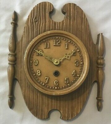 Sexton Cast Metal Plaque French Wall Clock