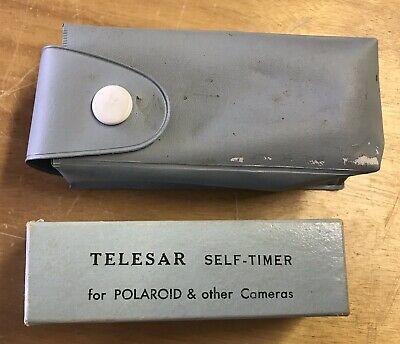Vintage Telesar Self Timer For Polaroid And Other Cameras