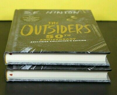 50TH ANNIVERSARY:  THE OUTSIDERS by S. E. HInton (Hardcover)  ^ NEW ^