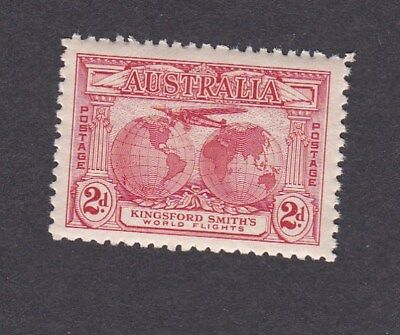 Australia 1931 2d Red KINGSFORD SMITH AIR FLIGHTS stamp MINT UNHINGED MUH UM