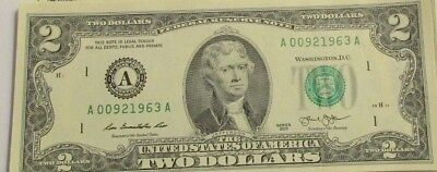 Turning 50 this year?-Two Dollar Bill ($2) - BEP Pack-Birthdate 9/2/1969 + more