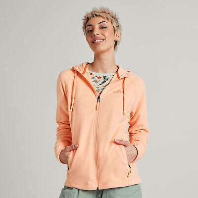 NEW Kathmandu Arenha Women's Lightweight Hoodie Jumper Warm Fleece Zip Jacket