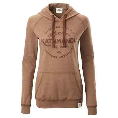 NEW Kathmandu Women's Earthcolours Hooded Pullover Jumper Hoodie Top