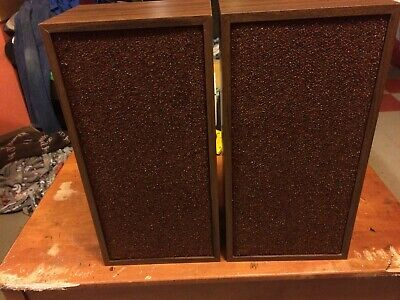 "Pair Of Fisher Xp-55B Speakers-8"" Two Way-Mint-Excellent Sound-30 Day Warranty"