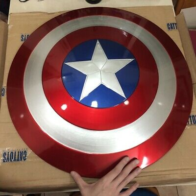 CATTOYS 1:1 The Avengers Captain America ABS Shield Repilica For Prop IN STOCK