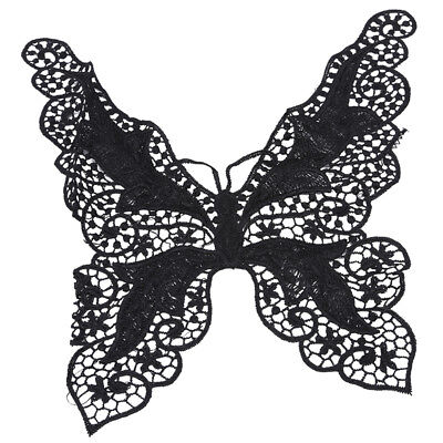 Hollow Butterfly Lace Collar Patch Crafts Seam Collar Appliques Decorative SW