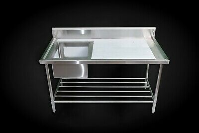 Sink Bench Stainless Steel Single Bowl Lhs