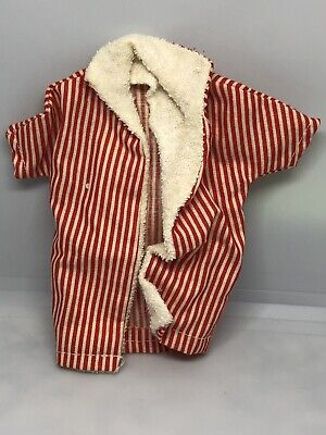 Vintage 1960's BARBIE Ken Doll Red White Striped Shirt #20