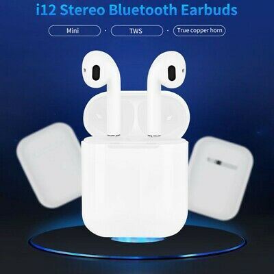 i12 TWS 5.0 Earbuds Headphone Wireless Headset Bluetooth Earphone For Airpods AU