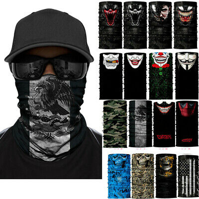 Face Mask Sun Shield Neck Gaiter Balaclava Neckerchief Bandana Headband Sports
