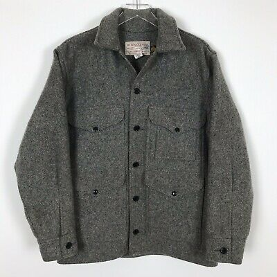2634add9ac2d4 VTG CC Filson Mackinaw Cruiser Lot 110 Wool Jacket Hunting Field Coat Mens  Sz 40