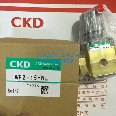 1 PC NEW Original CKD Water Pressure Relief Valve WR2-15-NL #AQ1A LW
