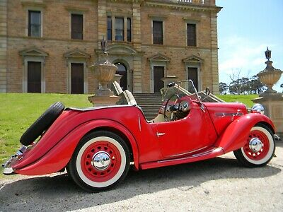 Singer 9A 1949. Iconic English sports roadster