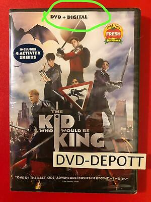 The Kid Who Would Be King DVD + DIGITAL {{AUTHENTIC READ} New FAST Free Shipping