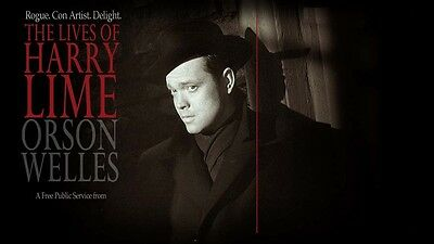 The Lives of Harry Lime - 52 Radio Shows Dvd - Orson Welles - The Third Man