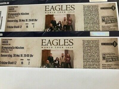 2 x The Eagles 30.05.2019 München Olympiahalle
