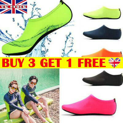 UK Women Men Water Shoes Aqua Socks Diving Socks Wetsuit Non-slip Swim Beach _lt