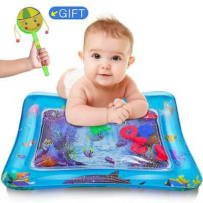 Inflatable Baby Water Play Mat and Tummy Time for Children Kids Infants BPA Free