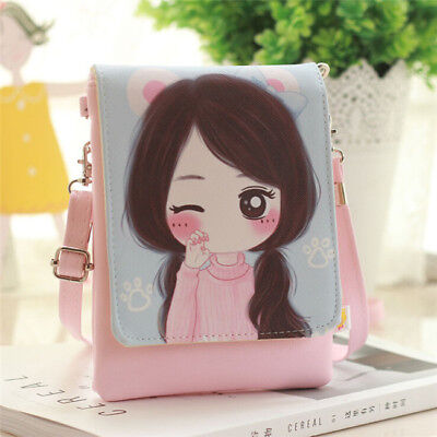 Women Wallet Purse Bag Coin Cell Phone Small Cross-body Shoulder Bag SW