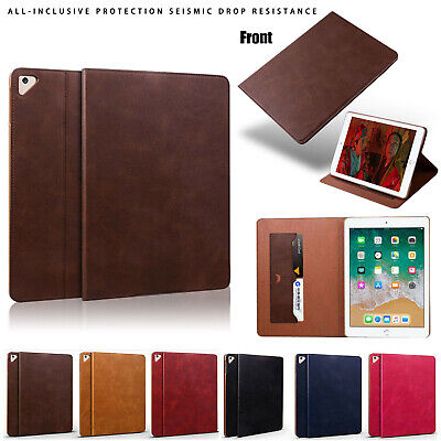 For iPad Air 1/2 5th/6th Gen 9.7 2018/ 2017 Ultra thin Leather Smart Cover Case