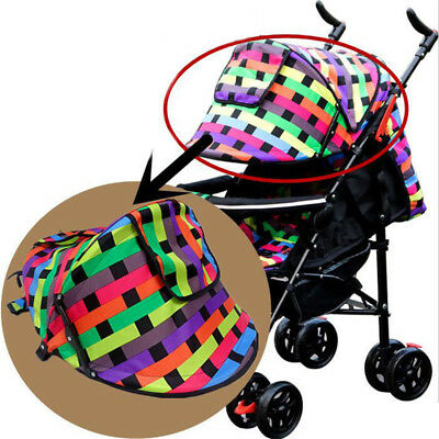 Multi-Color Sunshield Shade Hood Canopy Baby Stroller Top Protect Cover SW