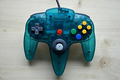 N64 - Original Nintendo Controller Clear Ice Blue (sehr guter Zustand)