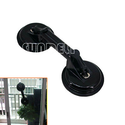 Black Suction Cup Floor Tile Dent Puller Glass Granit Lifter Vacuum Double Tool