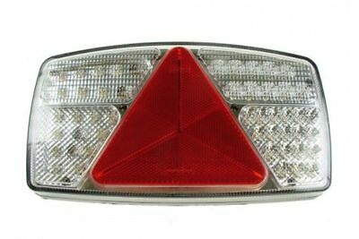 Left Hand 12V 24V Led Rear Combo Trailer Caravan Rear Lamp Mp8603Bl Maypole