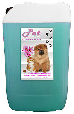 25L FLOWER BOUQUET Cattery Kennel Disinfectant Cleaner Pet GUARD