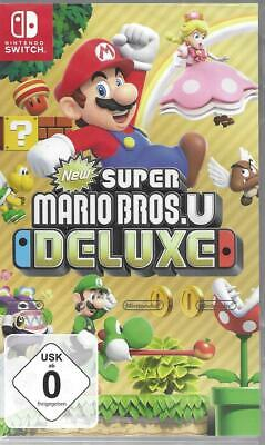 New Super Mario Bros. U Deluxe  NINTENDO SWITCH NEU & OVP
