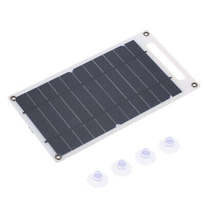 7.8W Ultra Thin Solar Panel Charger USB Monocrystalline Silicon Outdoor New M1P0