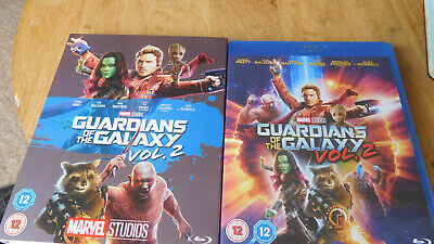 Guardians Of The Galaxy 2 : Vol 2 (Blu-ray, 2017) NEW AND SEALED