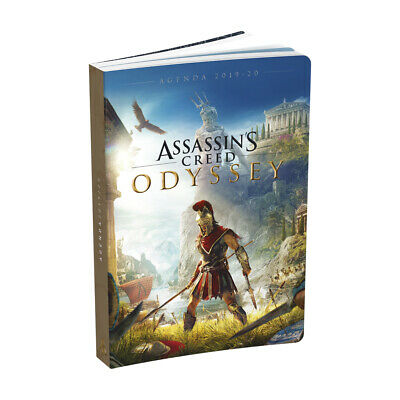"Agenda scolaire ""Assassin's creed"" Odyssey - 2019/2020 - Bleu"