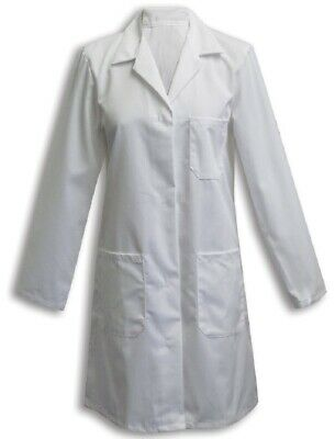 Alexandra Womens Doctor Health NHS PPE Workwear Hospital Safety Lab Coat - W3