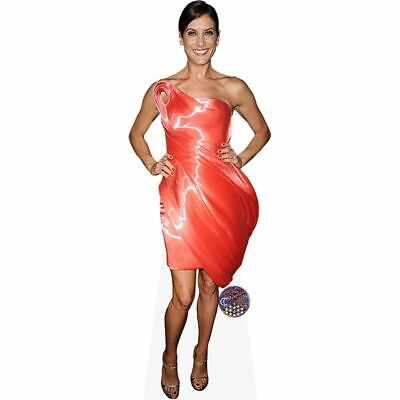 Kate Walsh (Red Dress) Cardboard Cutout (lifesize). Standee.