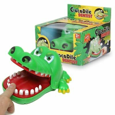 Crocodile Mouth Dentist Game Funny Big Croc Family  Adults and Kids Game